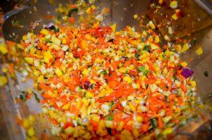 how it's made mango tango salsa-3
