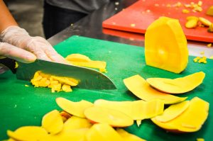 how it's made mango tango salsa